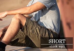 short de hombre